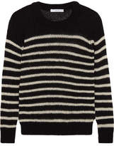IRO Striped Knitted Sweater - Black