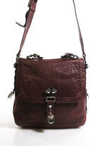 Treesje Mauve Leather Medium Satchel Handbag