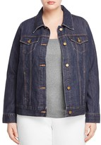 MICHAEL Michael Kors Logo Button Denim Jacket
