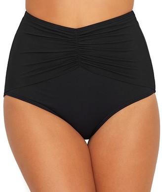 CoCo Reef Classic Solid Diva High-Waist Bikini Bottom