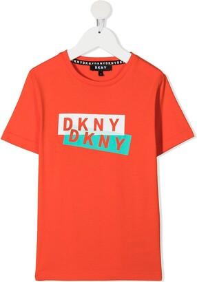 DKNY logo-printed T-shirt