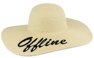 Just Jamie Offline Floppy Straw Hat