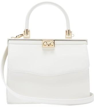 Rodo Paris Medium Leather Bag - White