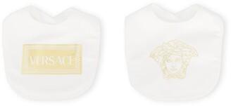 Versace Logo Bib Set