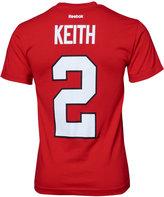 Reebok Men's Short-Sleeve Duncan Keith Chicago Blackhawks Player T-Shirt