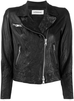 Sylvie Schimmel Zipped Biker Jacket