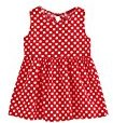 Fheaven Baby Girls Summer One Piece Sleeveless Cotton Blended A-Line Floral Dress (2/3T, Red)