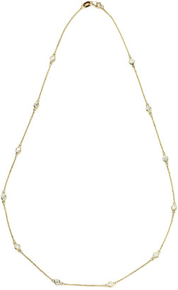 Suzy Levian Diamonds Suzy Levian 14K 0.40 Ct. Tw. Diamond Station Necklace