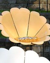 Mackenzie Childs MacKenzie-Childs Yellow Daisy Outdoor Chair with Cushion