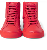 Givenchy - Leather High-top Sneakers