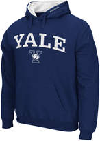 Colosseum Men's Yale Bulldogs Arch Logo Hoodie