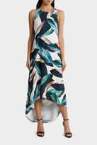 Sleeveless Swing Colour Print Dress