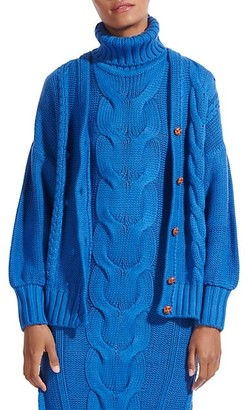STAUD Blake Oversized Cardigan