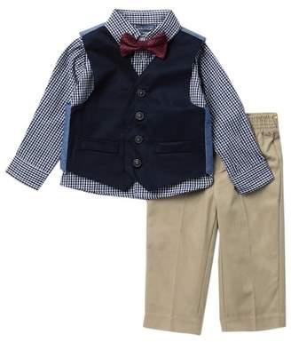 Nautica Twill Vest - 4-Piece Set (Baby Boys)
