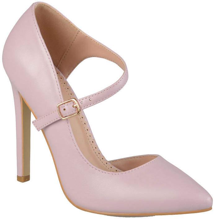 32d1b21fcbd Womens Athea Pumps Buckle Pointed Toe Stiletto Heel