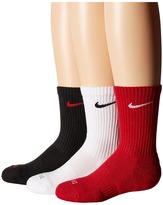 Nike Dri-Fit Cotton Cushion Crew 3-Pair Pack (Youth)