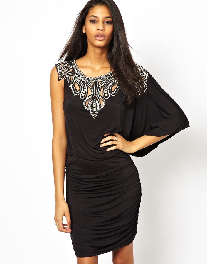 Forever Unique Jodie Embellished Dress