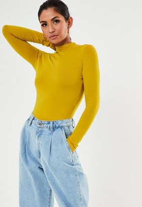 Missguided Funnel Neck Top