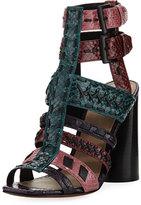 Donald J Pliner Bindy Multi-Strap Stitched Sandal, Multicolor