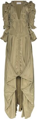Faith Connexion Ruffle Detail Victorian Dress