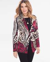 Chico's Soft Printed Blazer