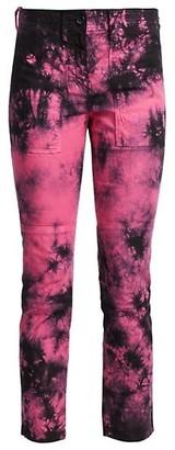 No.21 Tie Dye Ankle Pants