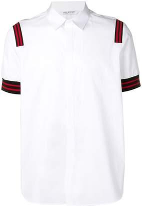 Neil Barrett stripe detail shirt