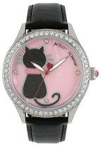 Betsey Johnson Back Cat You Watch