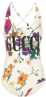 Gucci Floral swimsuit