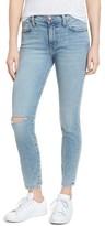Current/Elliott Women's The High Waist Stiletto Ankle Skinny Jeans