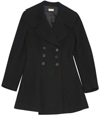 Alaia Black Wool Coat for Women