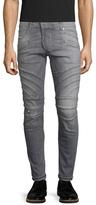 Pierre Balmain Faded Distressed Skinny Jeans