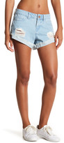 Noisy May Fran Distressed Denim Shorts