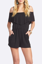 Tart Collections Off Shoulder Romper