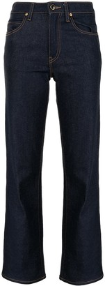 KHAITE Vivian high-rise flared jeans