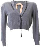 N°21 Grey Wool Cardigan