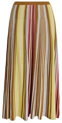 Marina Rinaldi Stripe Giovanna Maxi Skirt