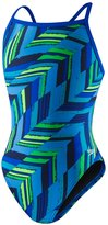 Speedo Youth Endurance+ Angles Flyback One Piece Swimsuit 8146363