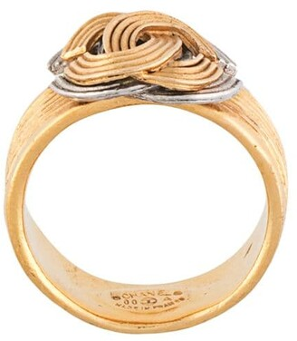 Chanel Pre Owned 2000 CC ring