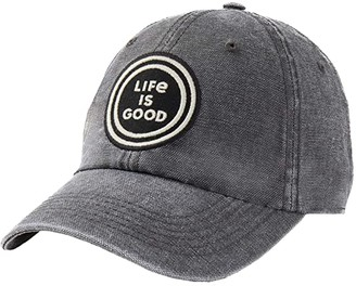 Life is Good LIG Coin Sunworn Chill Cap (Slate Gray) Caps