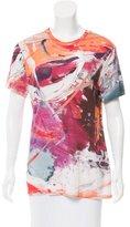 Prabal Gurung Short Sleeve Abstract Print T-Shirt