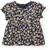 Polo Ralph Lauren Floral Pintucked Cotton Top (2-7 Years)