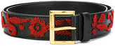 Prada embroidered belt