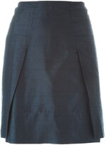 Romeo Gigli Pre Owned pleat detail skirt