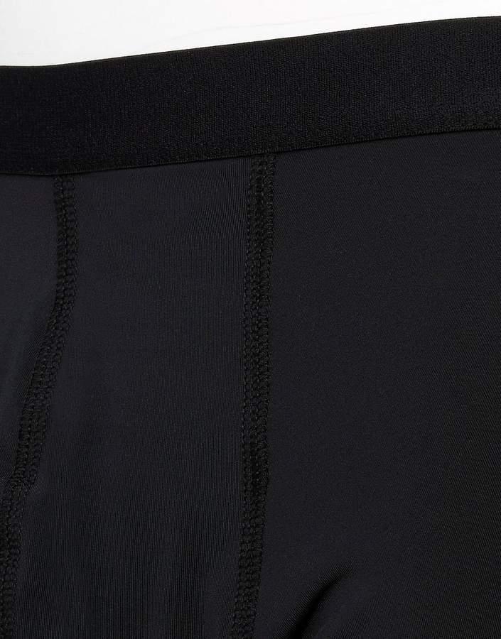 Asos Trunks In Black Microfibre