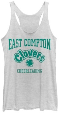 Fifth Sun Bring It on East Compton Clovers Cheerleading Tri-Blend Racer Back Tank