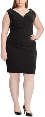 Chaps Plus Size Sleeveless Sheath Dress
