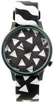Komono Happy Socks Estelle Black/White Women's Watch KOM-W2403