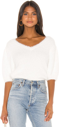 525 America Short Puff Sleeve Pullover