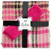 Echo Plaid Scarf and Bouclé Headband Gift Set
